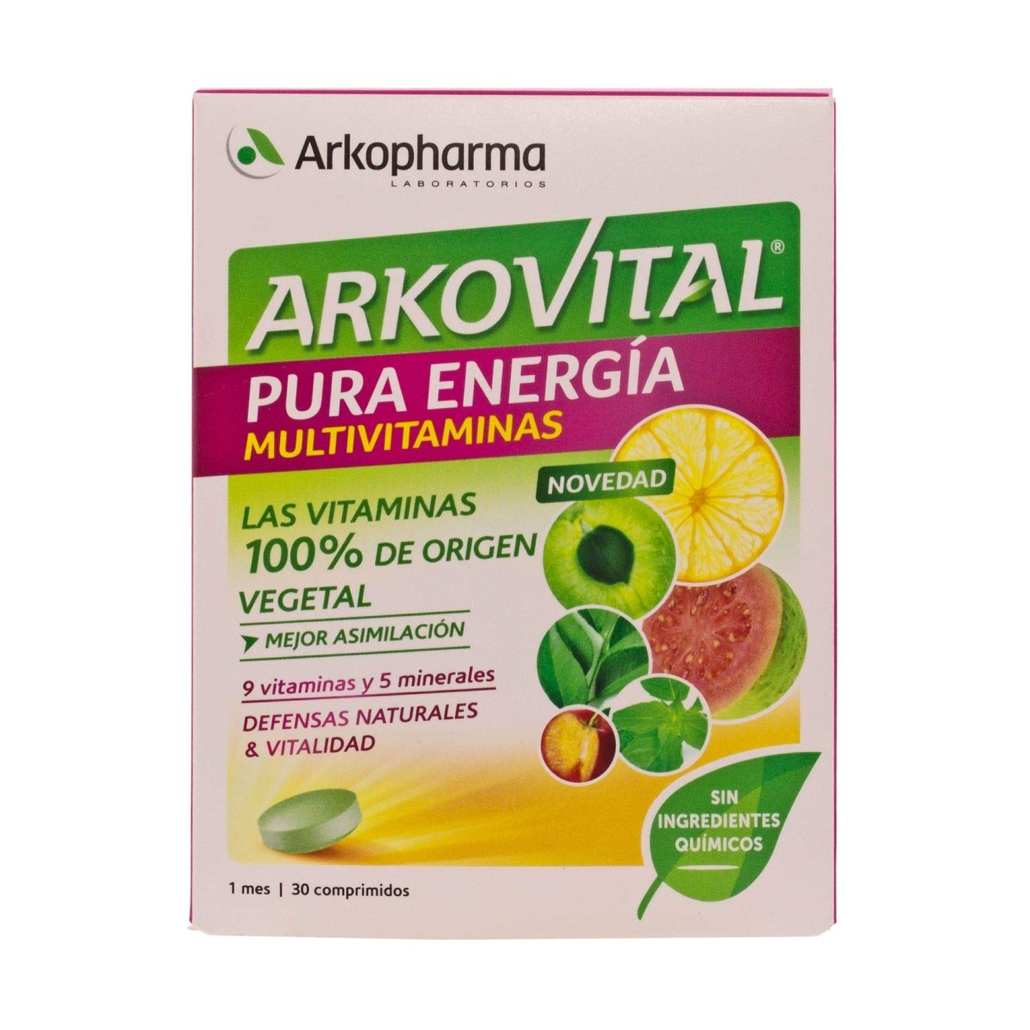 Amazon.com: Arkovital Pure Energy multivitamin 30comp ...