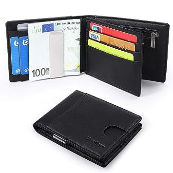 RFID Geldbörse Herren Brieftasche Geldbeutel Kartenetui Portemonnaie Portmonee