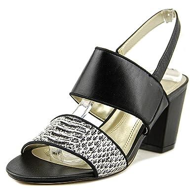 Tahari Womens Alex Sandal Black Size 65