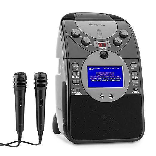 18 opinioni per auna ScreenStar Impianto Karaoke con Display e Videocamera integrata (lettore
