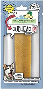 Himalayan Pet Supply Jughead Super Cheese Chew Insert | Best for Dogs 35 lbs and Over | No Lactose, Gluten Or Grains, Natural, Large