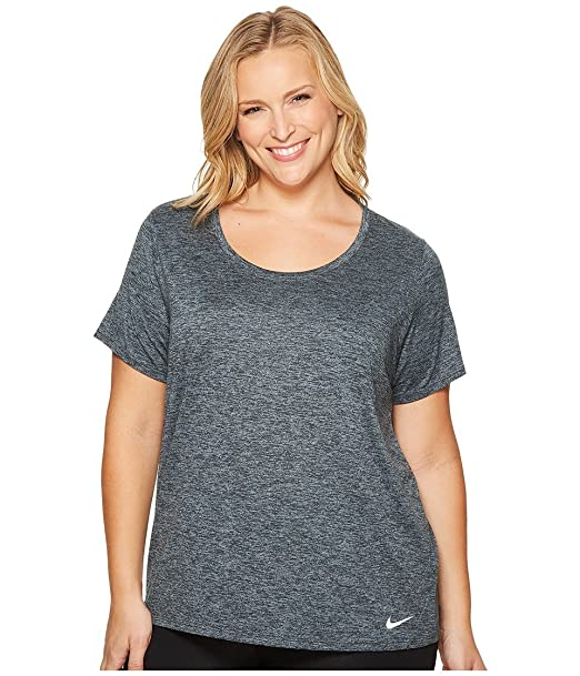 2caf63b9edfe NIKE Women's Plus Size Dry Legend T-Shirt at Amazon Women's Clothing store:
