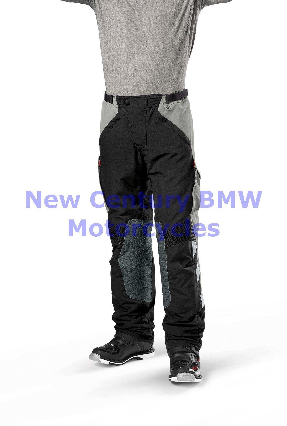 BMW Genuine Motorcycle Men Rallye Riding Pants Black/Red US 42 Euro 52