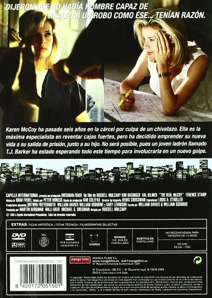 Amazon.com: Extremadamente Peligrosa (Import Movie) (European Format - Zone 2) (2008) Kim Basinger; Val Kilmer; Russell: Movies & TV