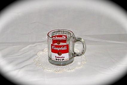 58b2fe5c803 Amazon.com | Vintage Campbell's Tomato Soup Glass Mug / #25, New ...