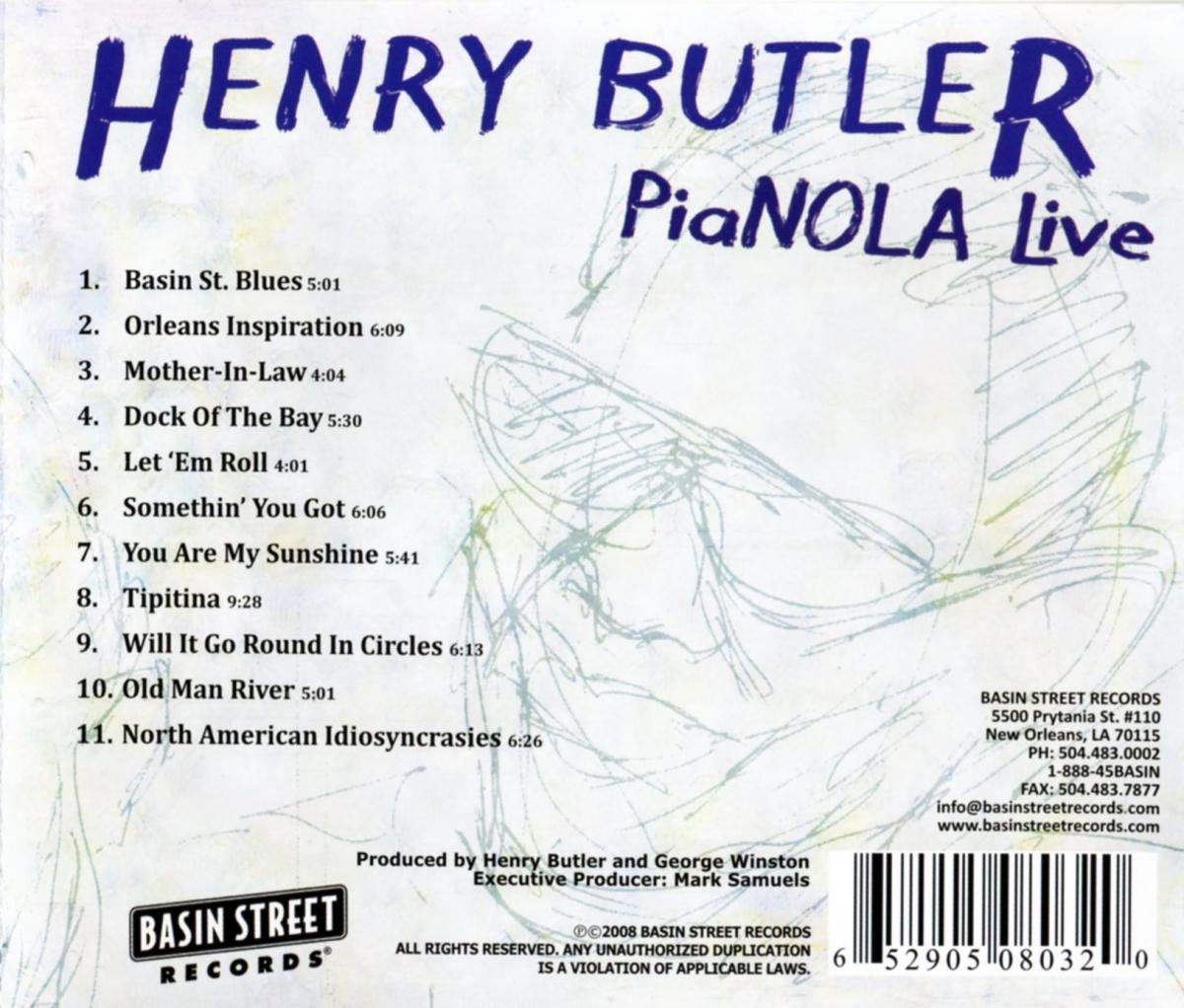 Pianola Live by Basin Street Records
