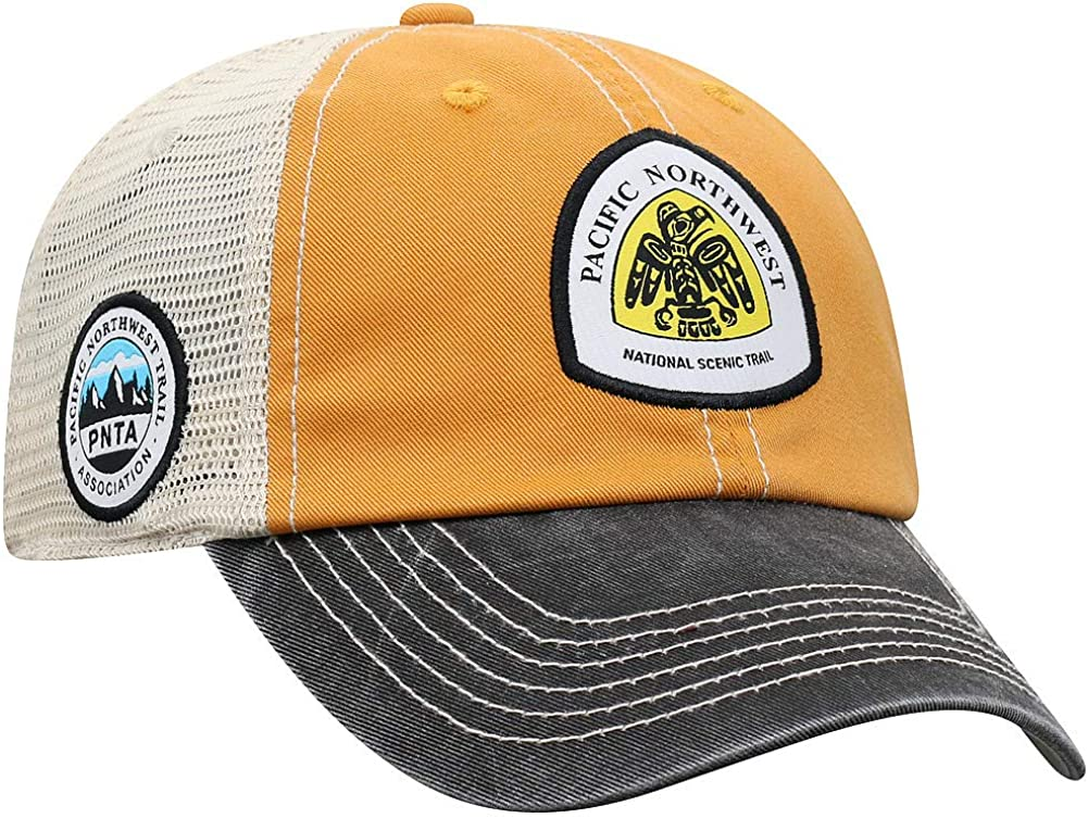 Elite Fan Shop Crown Trails National Trails Adjustable 3-Tone Mesh Hat