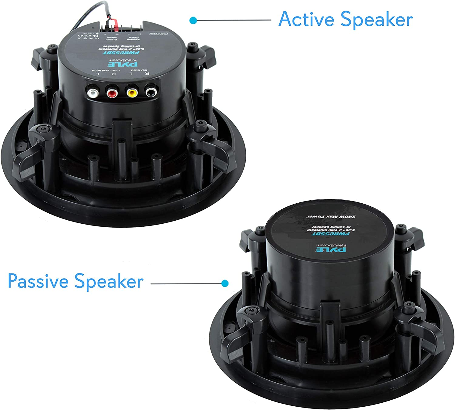 active-speaker-and-passive-speaker-with-built-in-subwoofer