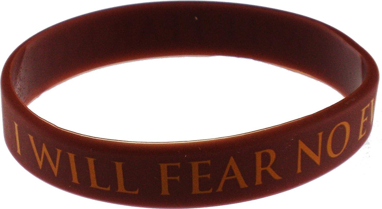 EAGLE CREST I Will Fear No Evil Wristband