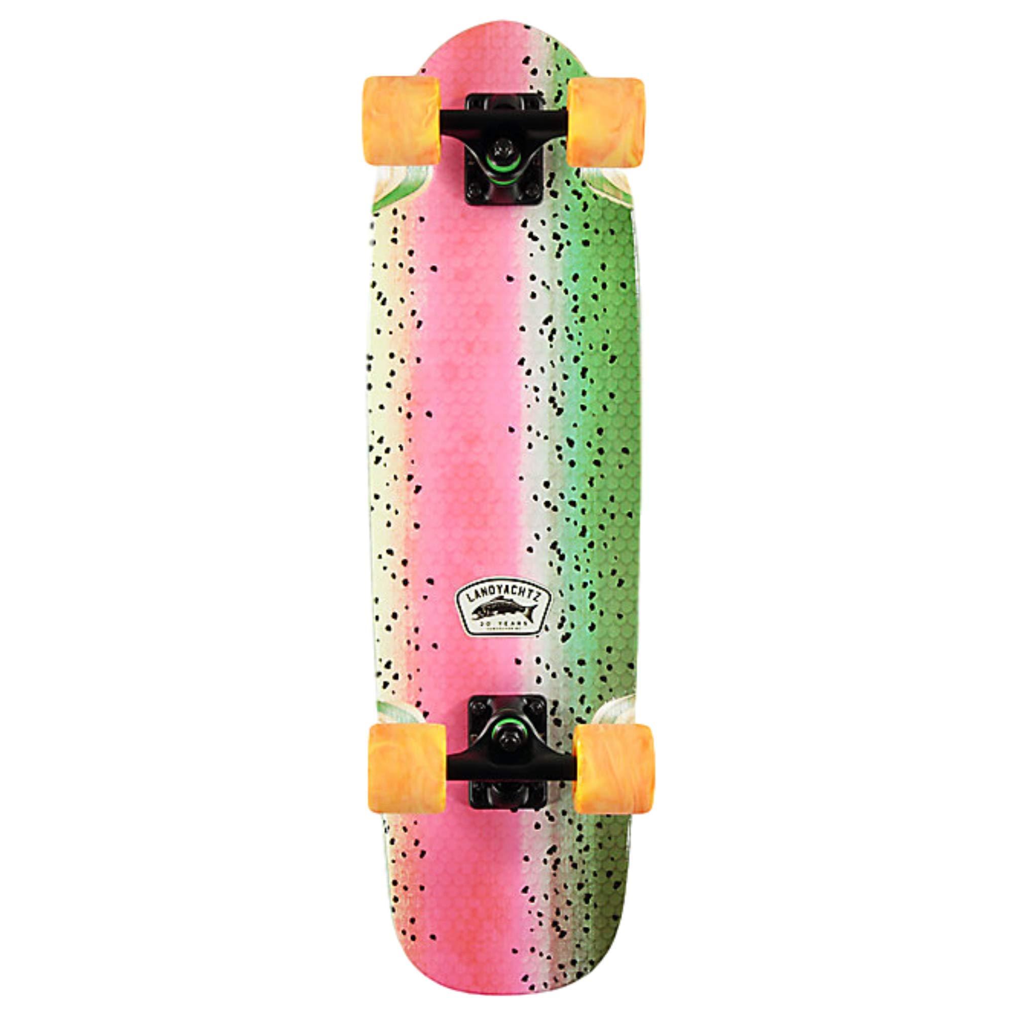 Landyachtz Dinghy 28'' Complete Skateboard (28'' - Trout Traditional)
