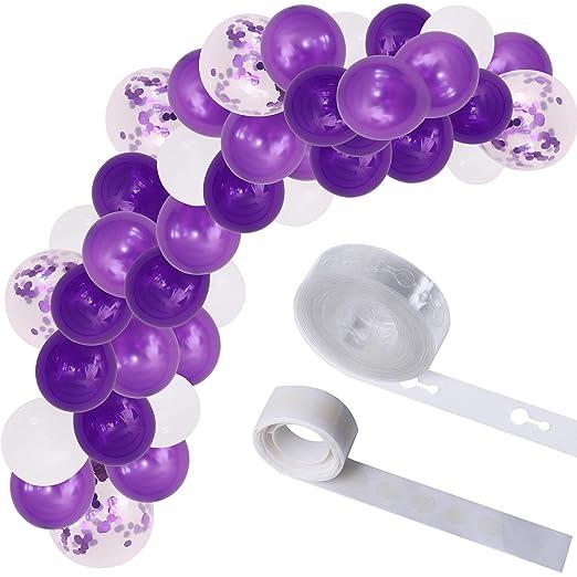 LOCOLO 110 piezas globo arco guirnalda globo guirnalda kits ...