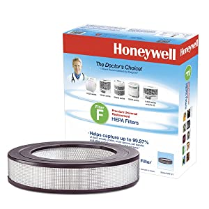 "Honeywell Universal 14"" Air Purifier Replacement HEPA filter, HRF-F1 / Filter (F)"