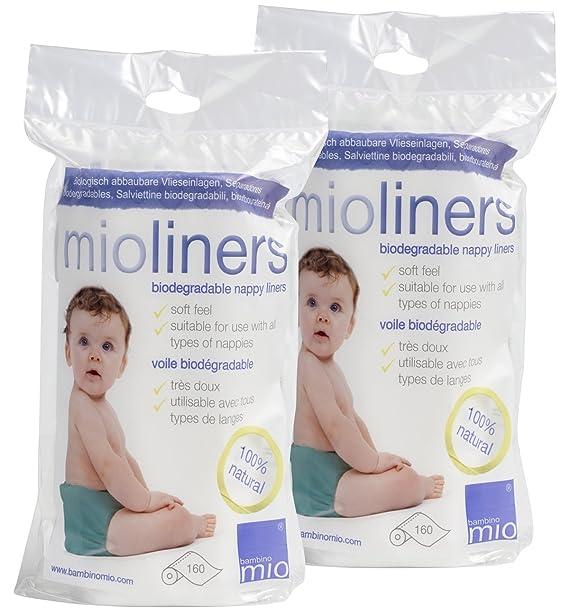 Bambino Mio voiles de protection 160 x 2 pack de 2 mioliners