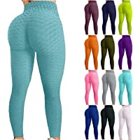 Bxstidho Leggings Push Up Mujer Pantalones Cintura Alta Yoga Mallas de Deporte de Mujer Elástico Deportivas Pantalon…