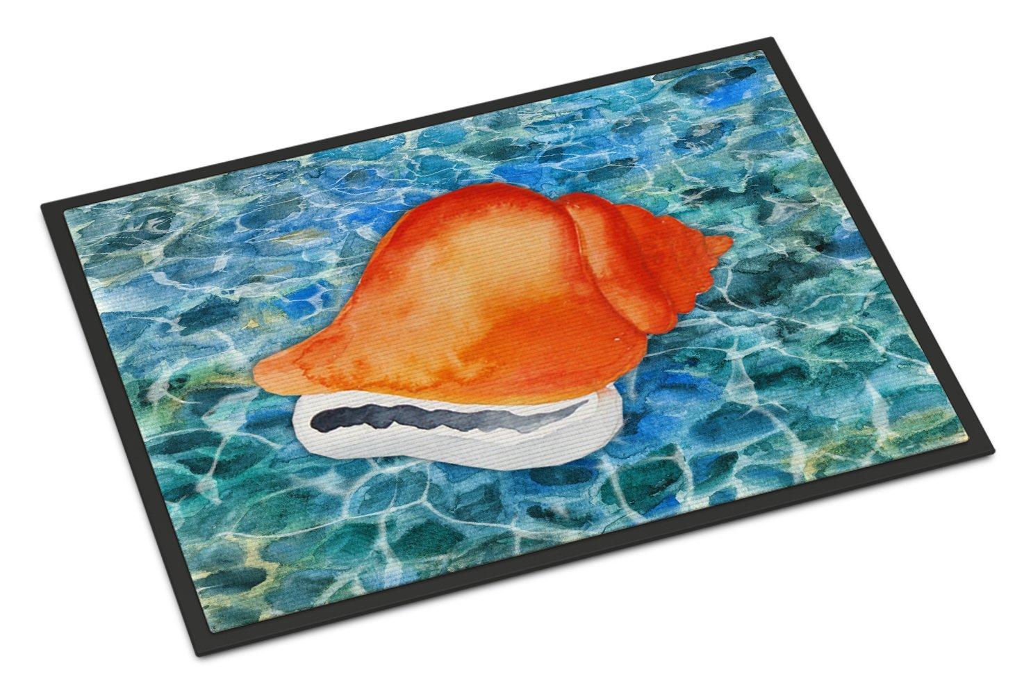 Carolines Treasures Deep Sea Diving Helmet Doormat 18 H x 27 W Multicolor