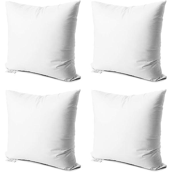 Amazon.com: PHANTOSCOPE 4 paquetes de insertos de almohadas ...