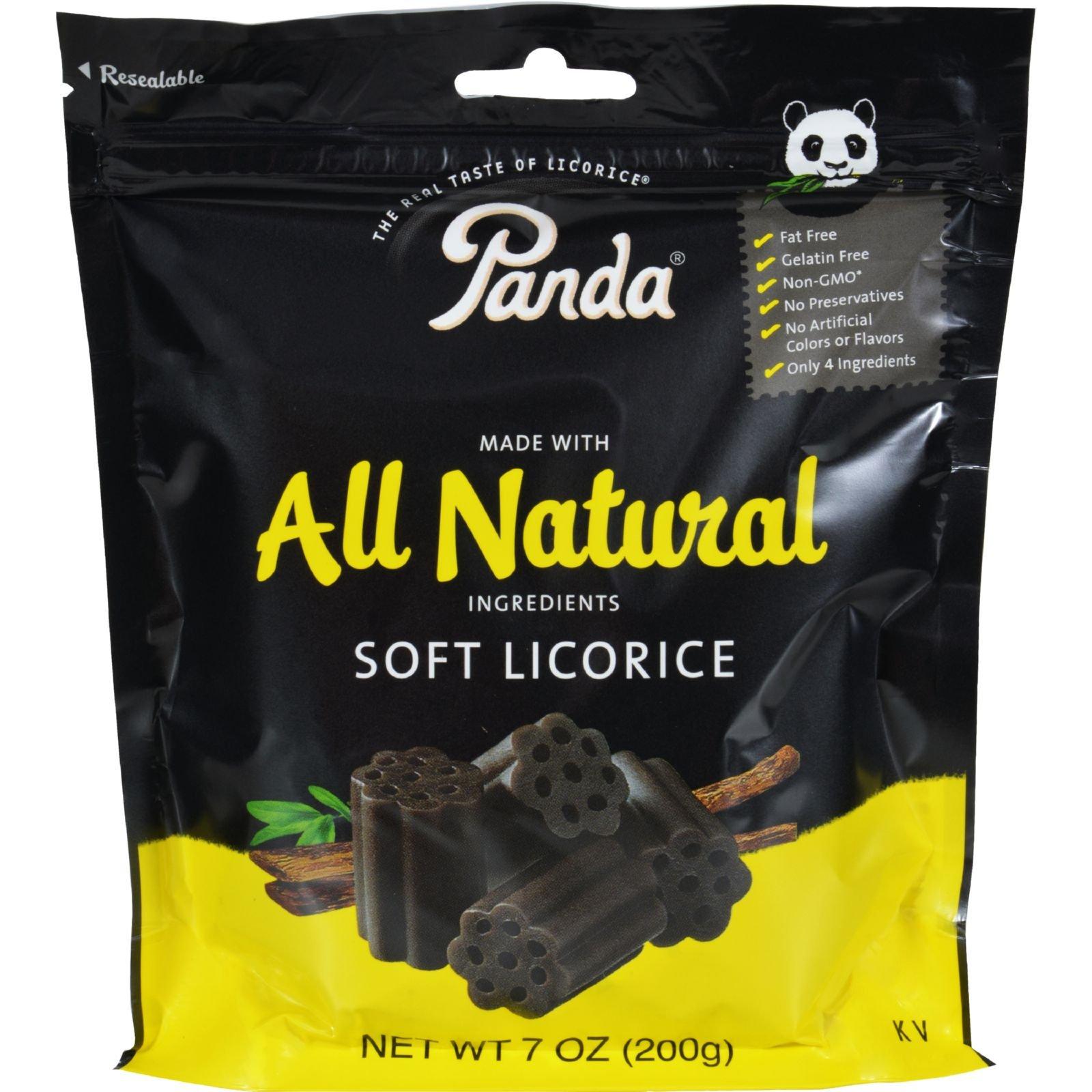 Panda All Natural Soft Licorice, 7 Oz.