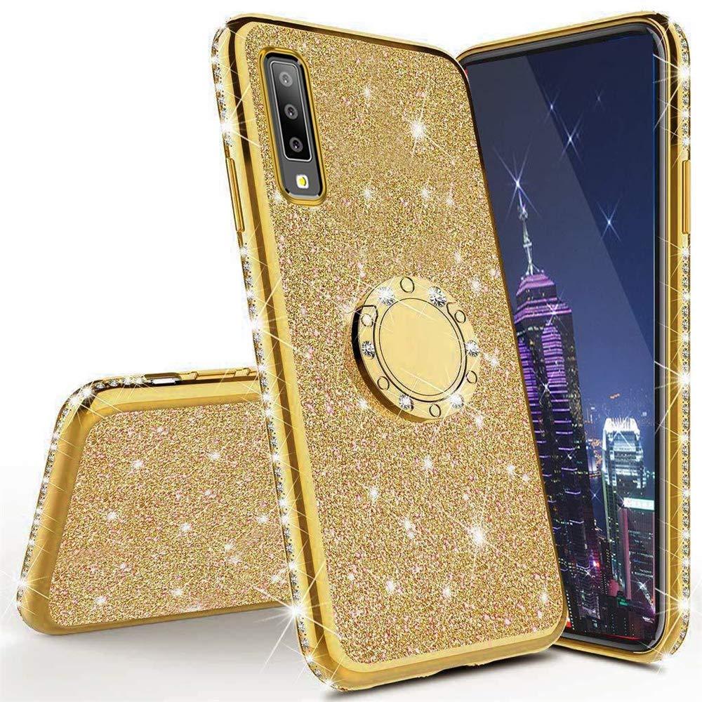 Funda para Samsung Galaxy A70 Glitter LEECOCOO [7SV3SGSC]