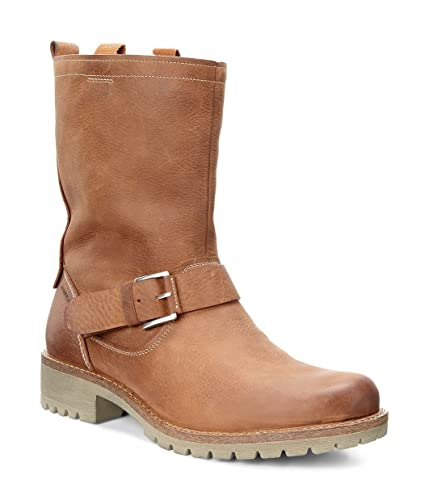 ECCO ELAINE Damen Biker Boots, Braun (AMBER), 35 EU: Amazon