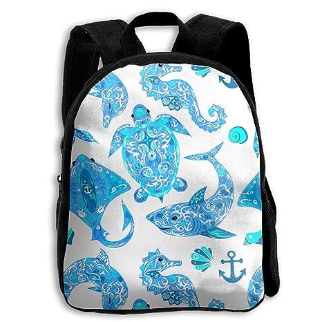 7dbb7e541694 Amazon.com: KCBover Marine Animals Pattern Little Kids'/Toddlers ...