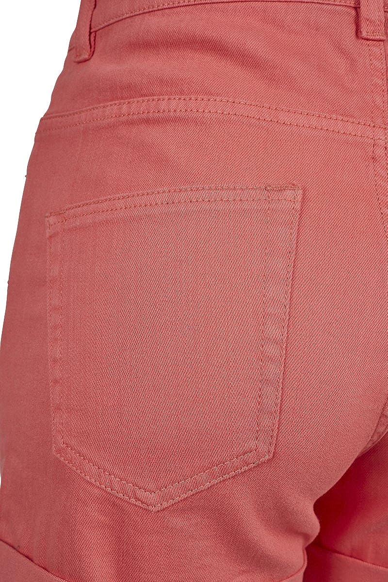 Urban Classic Womens Ladies Highwaist Stretch Twill Shorts
