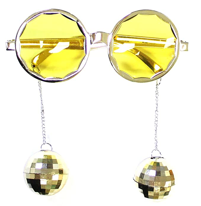 Amazon.com: Disfraz accessory- Disco Ball anteojos de sol ...