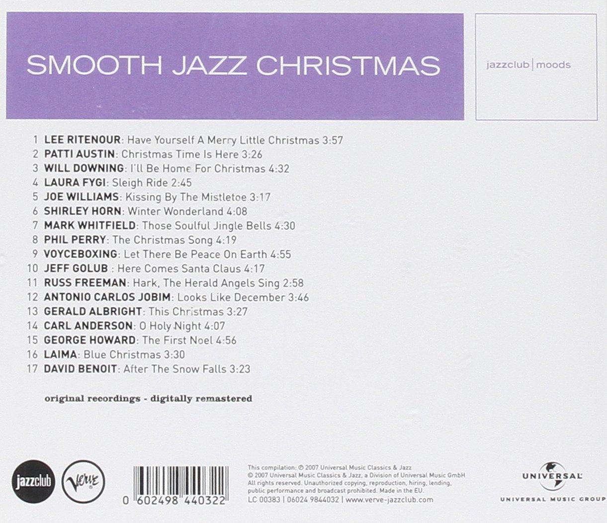 Smooth Jazz Christmas (Jazz Club) - Various: Amazon.de: Musik