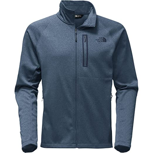 The North Face Men's Canyonlands Full Zip Shady Blue Heather - S