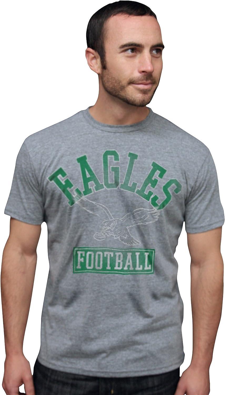NFL Philadelphia Eagles Vintage Triblend Short Sleeve Crew Neck Tee Men's
