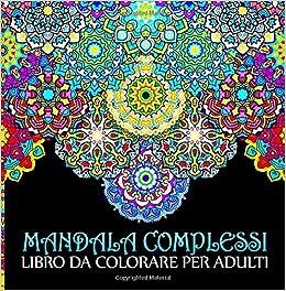 Amazonit Mandala Complessi Libro Da Colorare Per Adulti