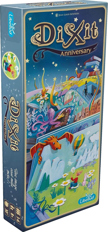 Asmodee- Dixit 9 Anniversary 2nd Edition, DIX11FR2: Amazon.es: Juguetes y juegos