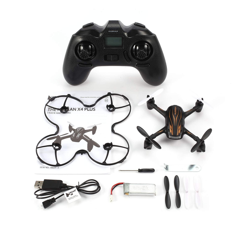 FairytaleMM HUBSAN H107P 2.4G Drone RTF RC Quadcopter con el Modo de Mantenimiento de altitud sin Cabeza