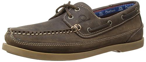 Chatham Kayak Men's Boat Shoes - Dark Brown, ...