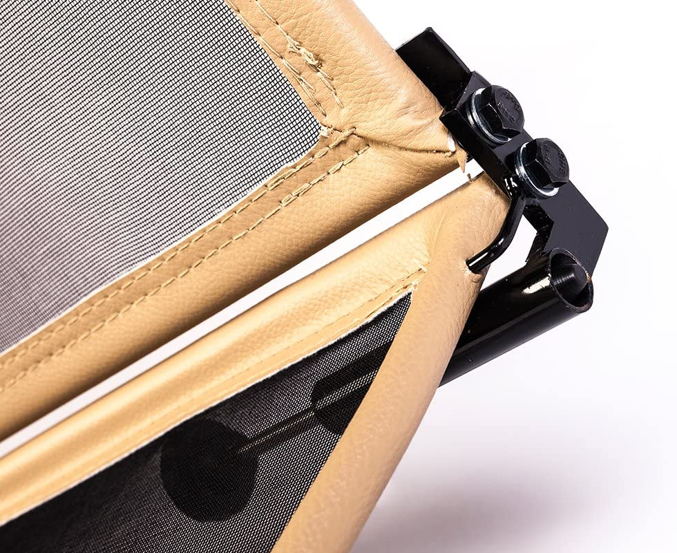 - Plegable Beige Parabrisas para descapotable TiefTech Deflector de Viento para Mini R52 R57 Descapotable Deflector de Viento con Cierre R/ápido 2004-2015 Deflector de Aire