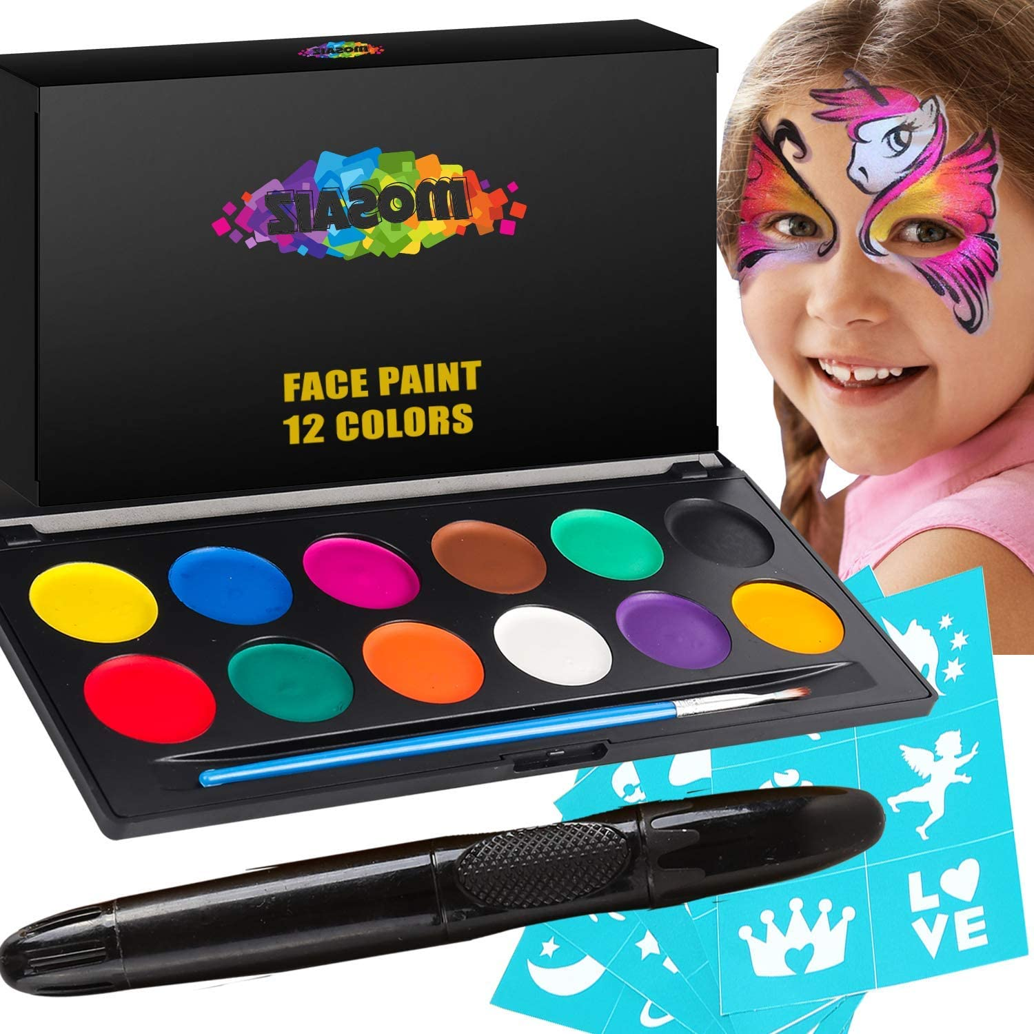 Top 9 Best Face Painting Kits (2020 Reviews & Buying Guide) 2