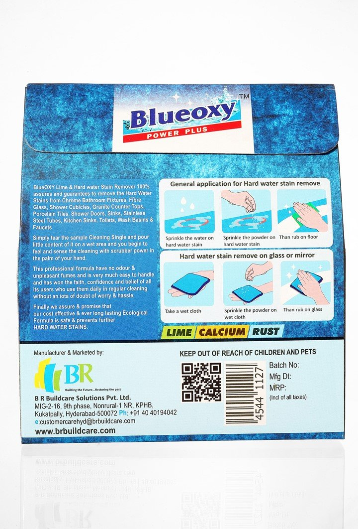 Herbo Pest Blueoxy Lime And Hard Water Stain Remover 250Grams Pack ...