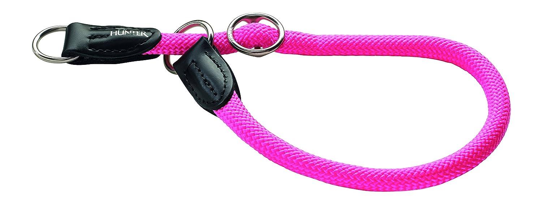 HUNTER Collare da addestramento Freestyle Neon 55/10rosa carico, Corda 61709