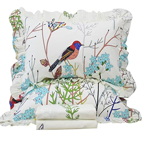 full sheet size duvet product cotton double sets printing cover svetanya bedding pillowcase pastoral twin queen bedlinen set bird