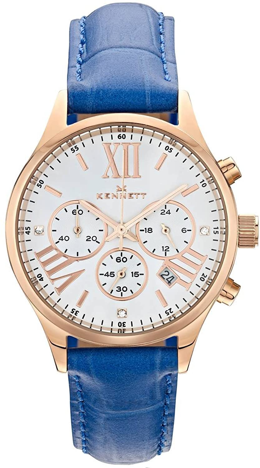 Lady savro Rose Gold Royal Blau Empire
