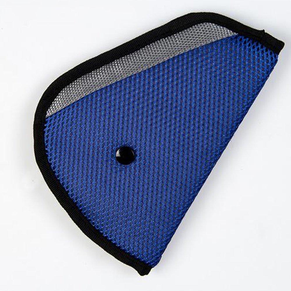 Little Sporter Kinder Schulterkissen /überdimensional Auto Sicherheitsgurt Abdeckung f/ür eine korrekte Gurtf/ührung f/ür Kinder Sicherheitsgurteinsteller f/ür die Sicherheit Ihrer Kinder Blau
