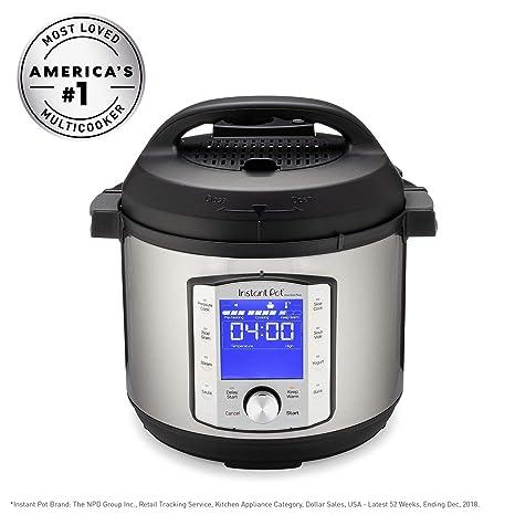 Amazon.com: Olla a presión eléctrica Instant Pot 6QT Duo Evo ...