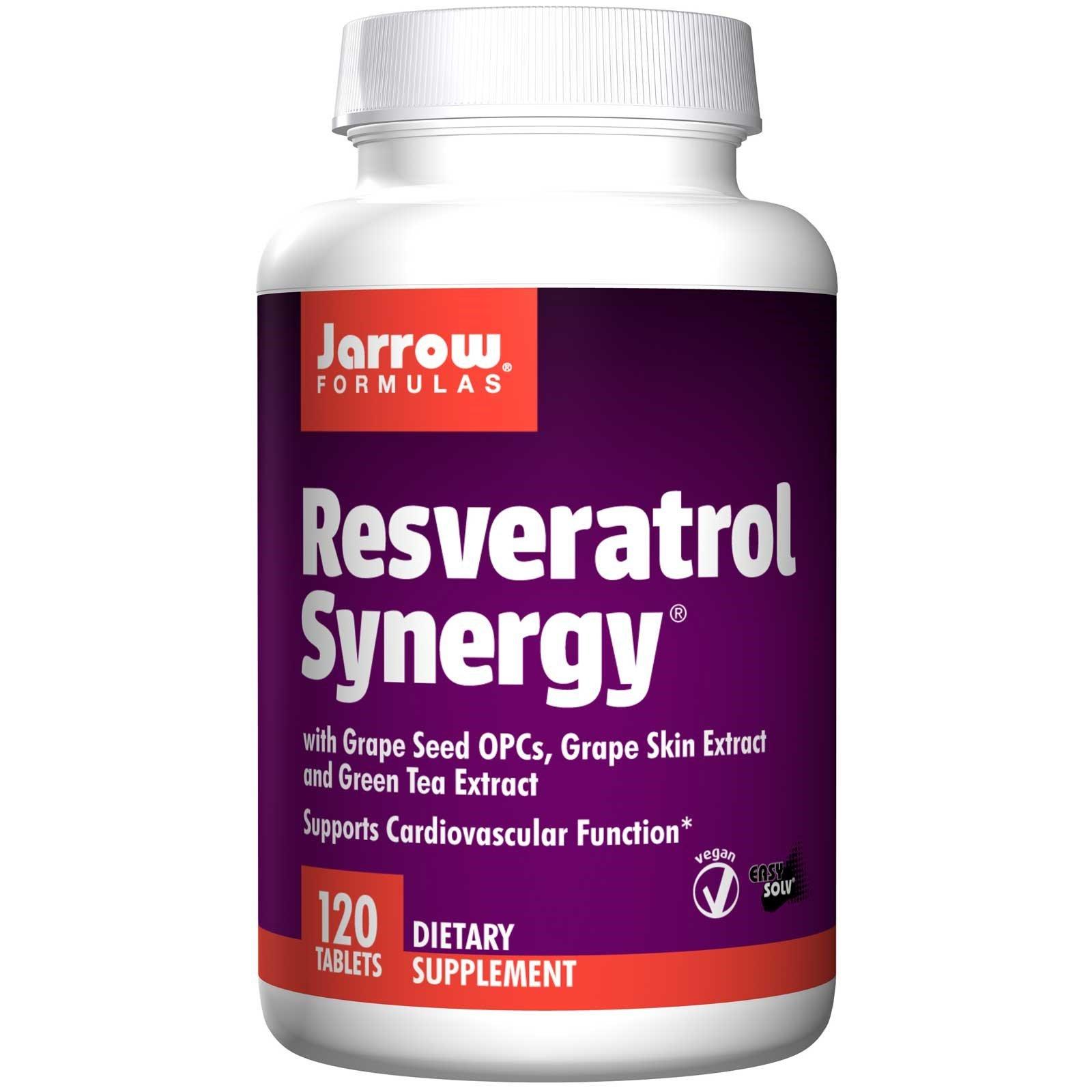 JARROW Formulas Resveratrol Synergy, 120 CT