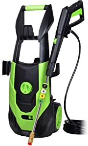 Zeccos Electric Pressure Washer with 5 Interchangeable Spray Tips,Long Term Helper Washer,High Effcient Pressure Washer 4200PSI 3.2GPM