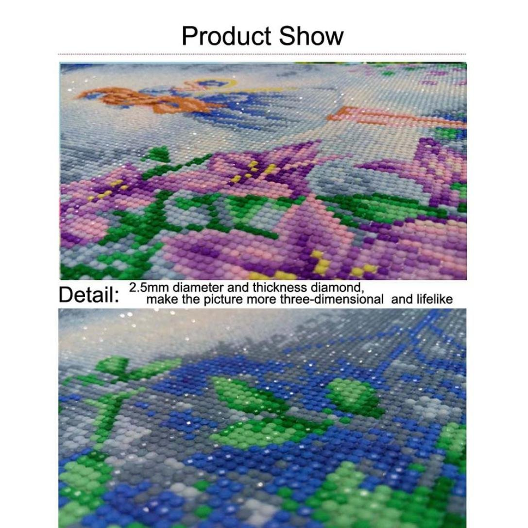 5D Giraffe Embroidery Rhinestone Pasted DIY Paintings TM Kixing