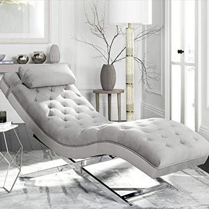 Amazon.com: Chaise Lounge Chair - Modern Living Room Lounger with ...