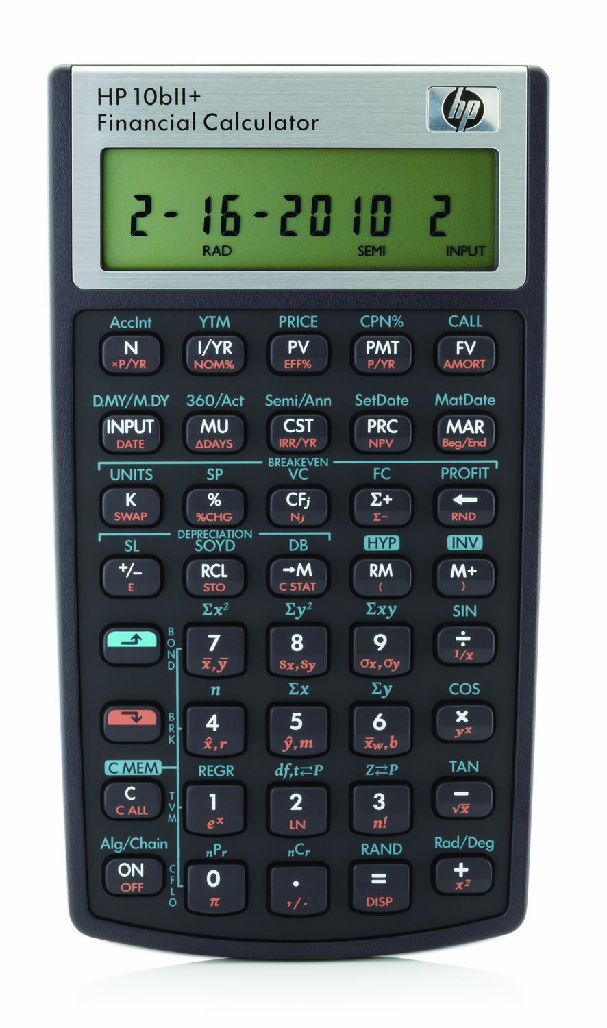 HP Financial Calculator (10BII+#ABA) NW239AA