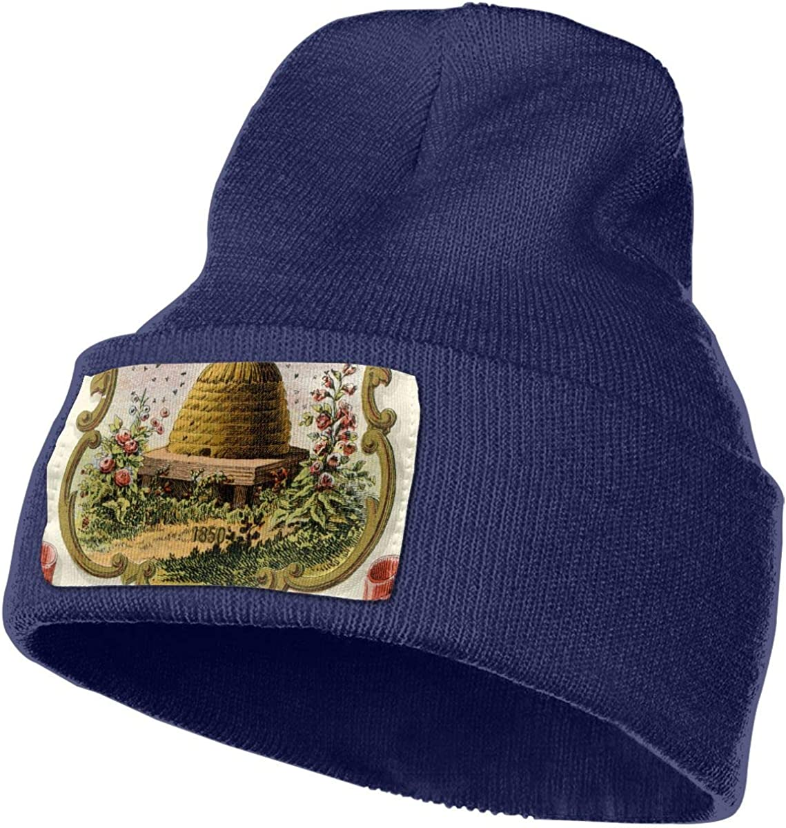 QZqDQ Utah Territory Coat of Arms Unisex Fashion Knitted Hat Luxury Hip-Hop Cap