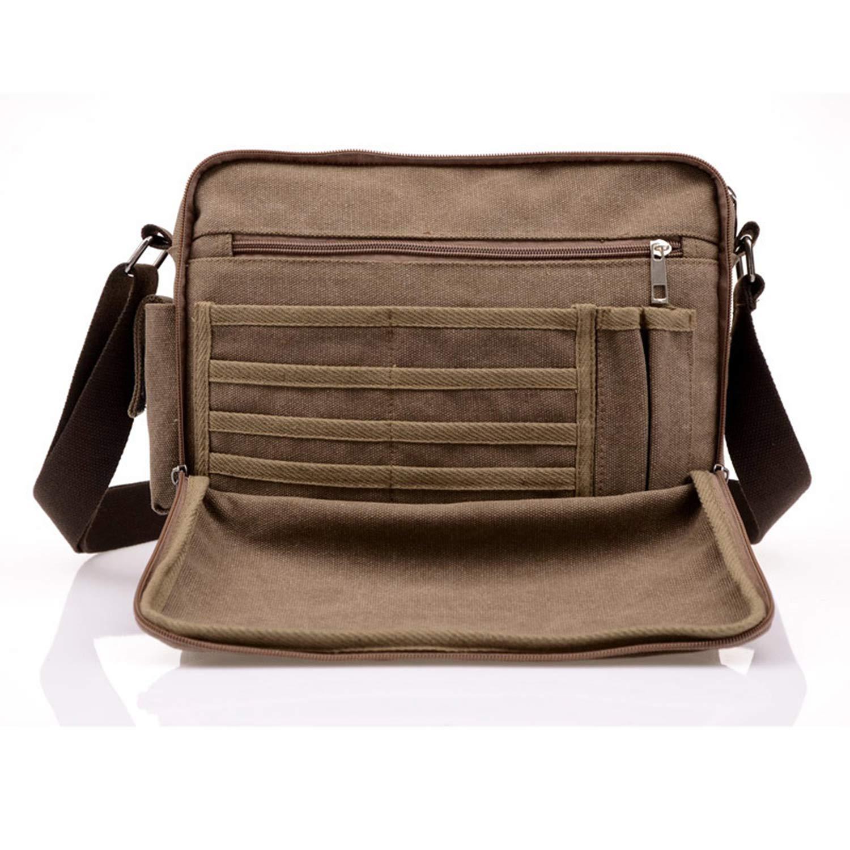 Men Casual Canvas Bag MenS Crossbody Bags For Men Messenger Bag Man Shoulder Bag Multifunction