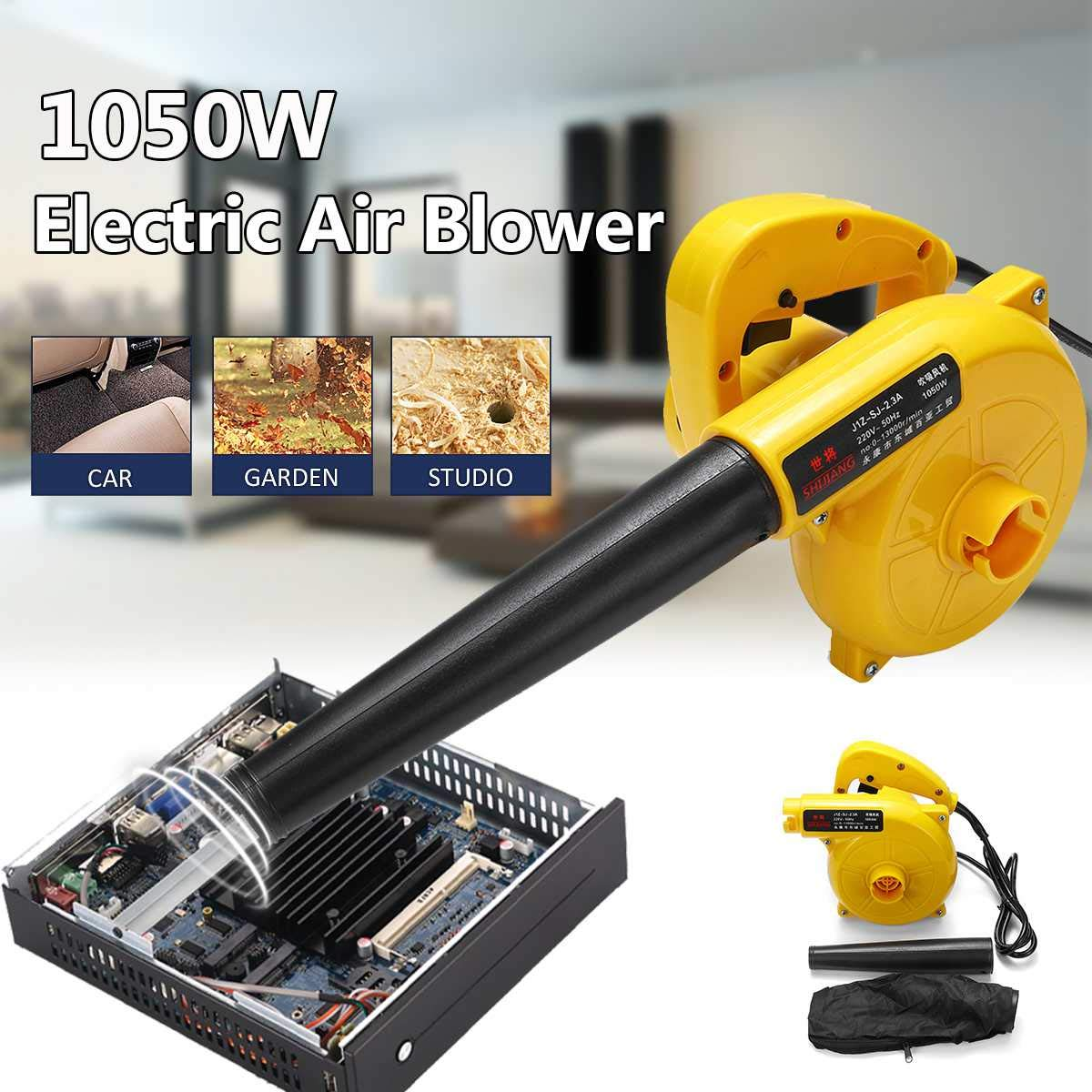 JohnnyBui - Portable Air Blower Computer Cleaning Electric Dust Removal Handheld Air Blower Cleaner for Leaf Dust Computer Furniture Car