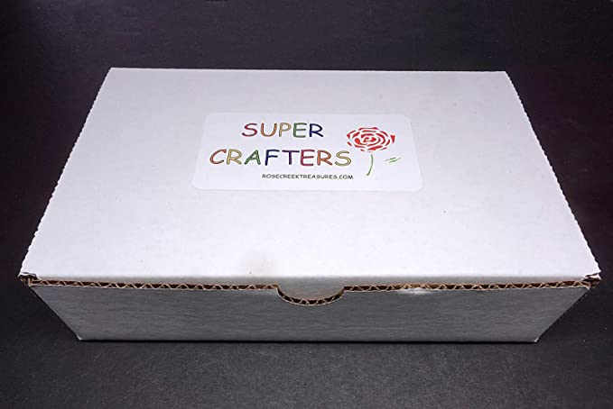 Amazon com : ly1122 Super Crafters Collection 2 Lb Natural Crystals